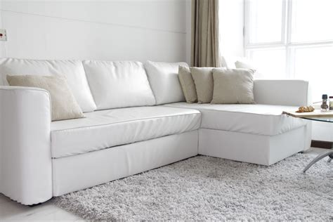 slipcovers for leather couches 11 ways your ikea sofa can look a million bucks