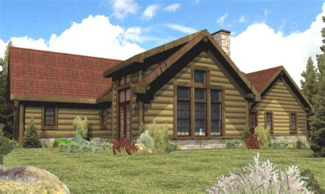 one story log homes single story log cabin homes plans single story cabin