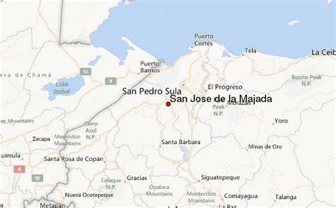 san jose honduras map san jose de la majada weather forecast