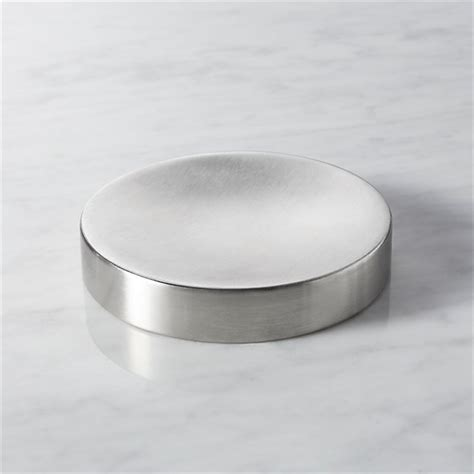 stainless steel soap dish cb2