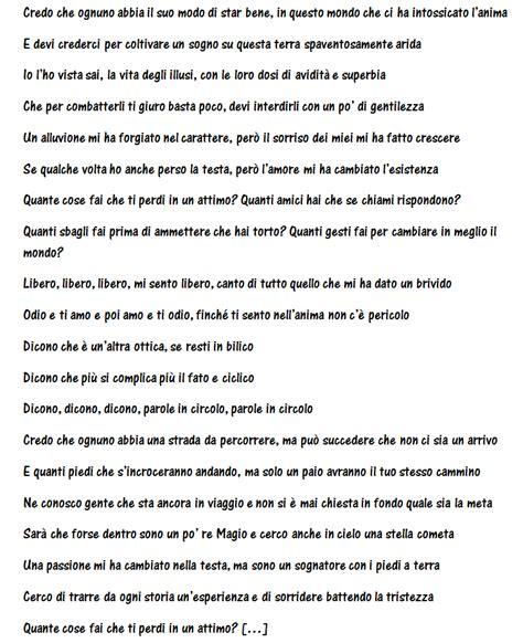 testo marco mengoni marco mengoni canta se stesso nella nuova canzone parole