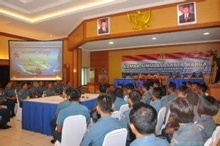 Tv Wilayah Surabaya dankobangdikal buka lomba simulasi sapta marga tni al wilayah surabaya website tentara