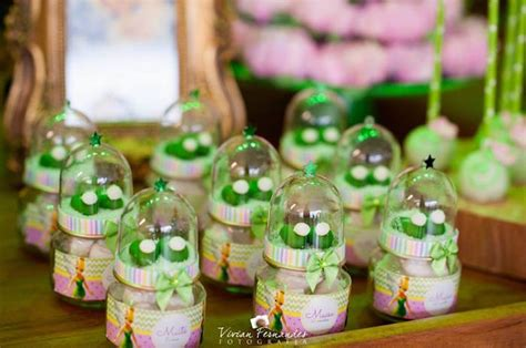 Tinkerbell Giveaways Souvenir - kara s party ideas tinkerbell slippper favors from a tinkerbell fairy garden birthday