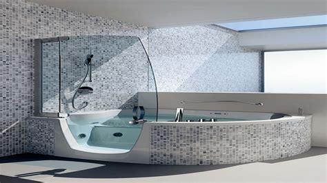 Whirlpool Bathtub Shower Combo by Corner Whirlpool Tub Shower Combo Home Decor Takcop