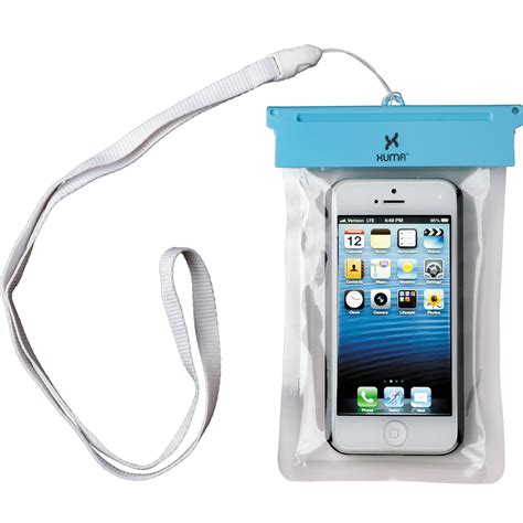 xuma waterproof pouch for iphone 5 5s i5 wpc b h photo