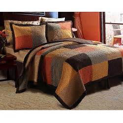King Size Bedding Walmart Global Trends Trinidad Quilt Set Walmart Com