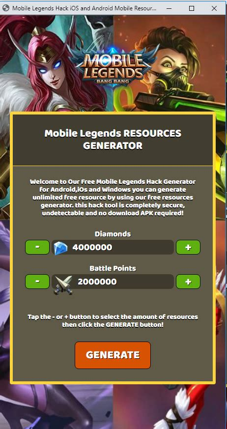 hack codashop mobile legends app hack mobile legends
