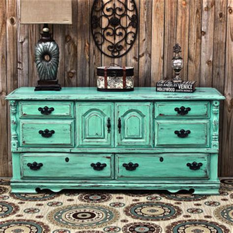Vintage Living Room Dresser Aqua Dresser Distressed Buffet Shabby From Aquaxpressions On