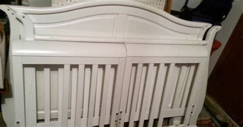 Craigslist Baby Cribs For Sale by Sold 4 In 1 Convertible Wood Crib Baby Bed Oklahoma