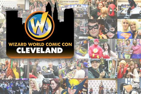 wizard world cleveland ohio march wizard world comic con is coming to cleveland parking