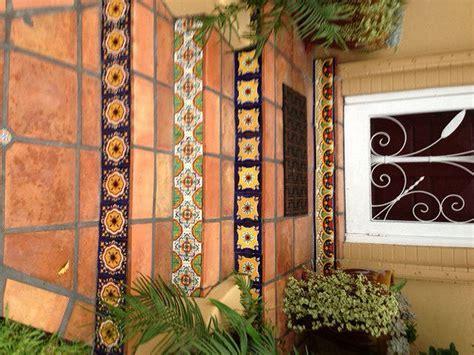 Saltillo Floor Tile Along Talavera Tile In Raisers