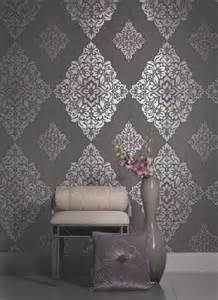 Damask Wallpaper   Contemporary   other metro   by American Blinds