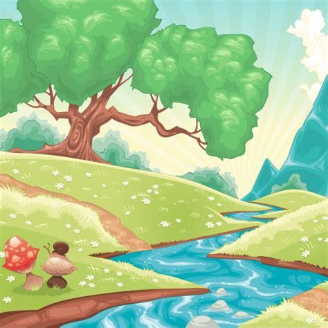 backdrop design nature natural background design vector free download