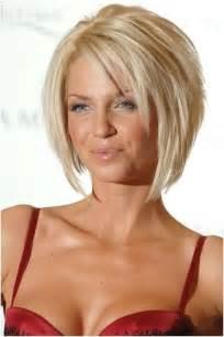 Short layered wedge haircut also shoulder length medium shag hairstyle
