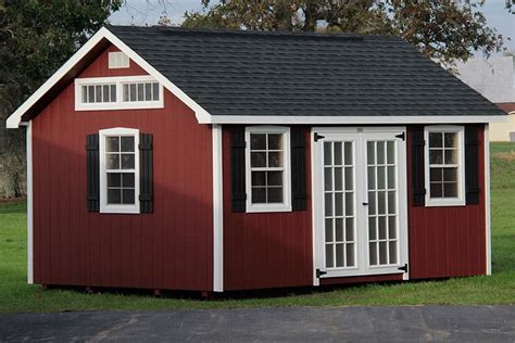 Small Backyard Shed Ideas by Photo Gallery Of The Lancaster Style Shed From Overholt In