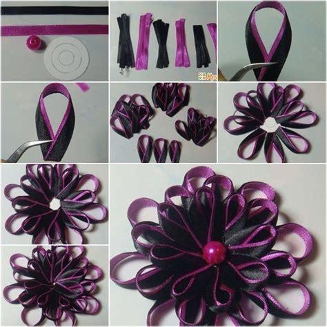 how to make kanzashi kanzashi ribbon flower gallery