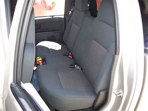 chevrolet colorado seat covers chevy colorado 2004 2012 iggee s leather custom seat cover