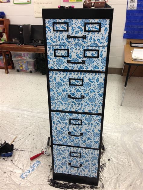 contact paper file cabinet 17 best images about organization makeovers on
