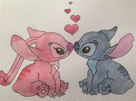 angel design contest lilo and stitch stitch and angel lilo stitch by roses art designs on