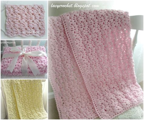 crochet flower blankets free pattern and