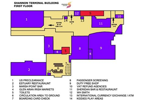 Home Floor Plan App by Shannon Airport Terminal Map Fly Shannon