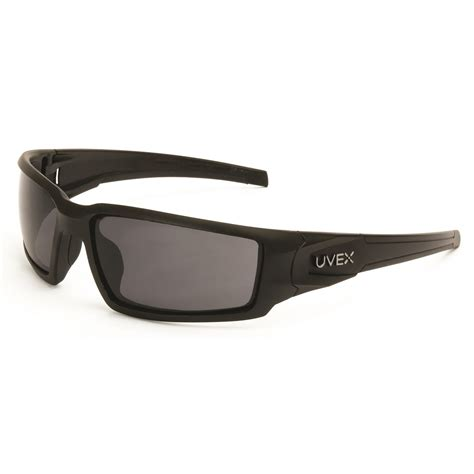 uvex s2941xp hypershock safety glasses matte black frame