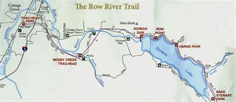 covered bridges oregon map attractions in cottage grove maps of row river trail and