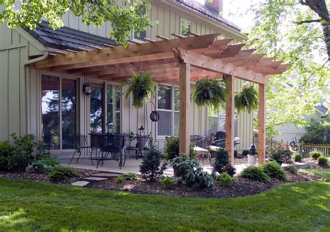 Patio Pergola by Creative Pergola Designs And Diy Options
