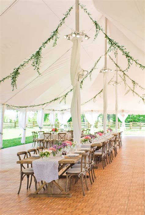 How To Decorate A Tent For A Wedding Reception by Wedding Tents A Fresh Idea For Summer Celebrations
