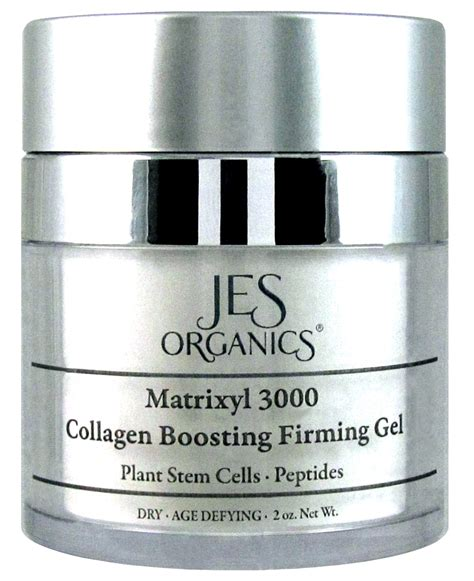 Collagen Stemcell organic anti aging peptide collagen boosting organic firming gel with plant stem cells