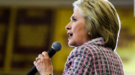 where does hillary clinton work hillary clinton on voters trust issues i know i have