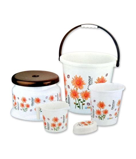 buy bathroom set buy mayo glamour bathroom set online at low price in india