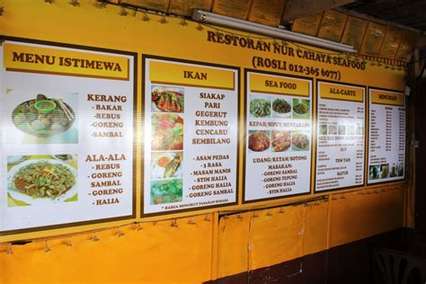 Jual Kerang Kak story of our seafood at pantai remis kelip kelip