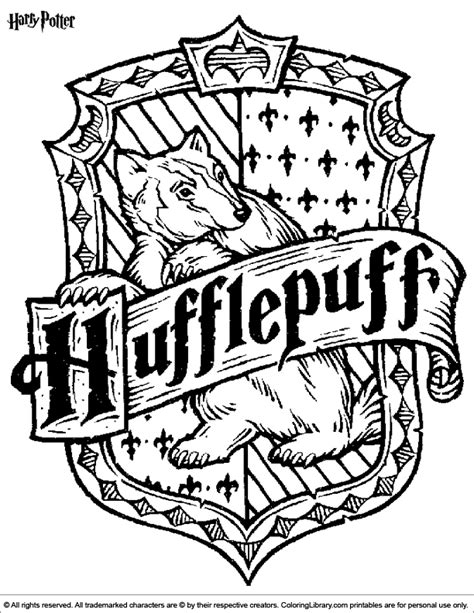 harry potter coloring book coloured in harry potter coloring page harry potter
