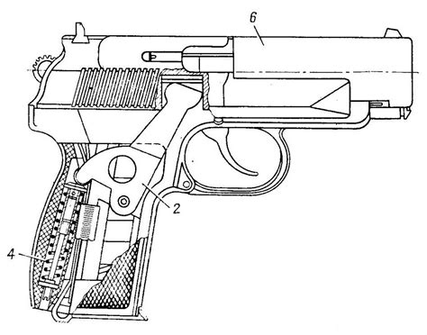 gun diagram russian 9mm pb silenced pistol forgotten weapons