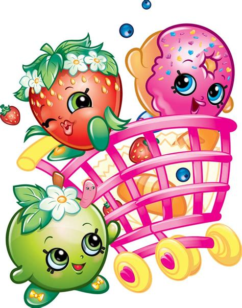 Shopkins Pink Cart cart clipart shopkins pencil and in color cart clipart