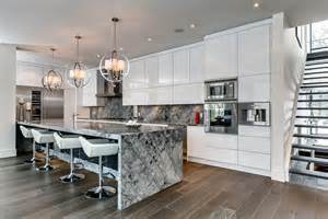 kitchen island canada marble island breakfast bar kitchen lighting contemporary house in toronto canada