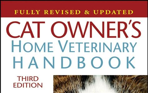 Pdf Owners Home Veterinary Handbook by Cat Owner S Home Veterinary Handbook 3rd Edition Pdf