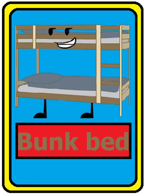 bunk bed fan image bunk bed card png battle for dream island fan fiction wiki