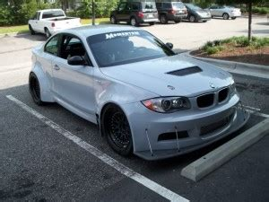 Bmw 1 Series Wide Body Kit by Click To Enlarge