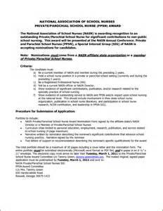 Application Letter As A Nurse Sample 12 Sample Of Nursing School Admission Letter