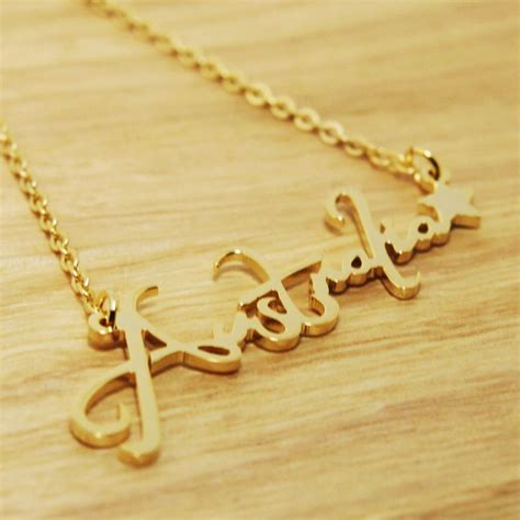Handmade Personalized Jewelry - any personalized name plates initial necklace monogram