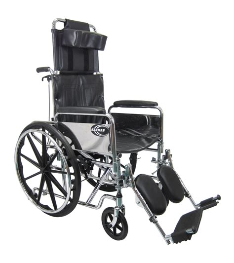 reclining wheelchairs kn 880 we recliner heavy duty wheelchair karman healthcare