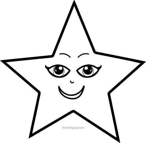 coloring page of a star coloring picture of a star 1664
