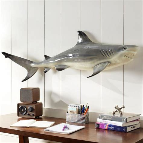 Shark Bathroom Decals Novelty Shark Decor Pbteen