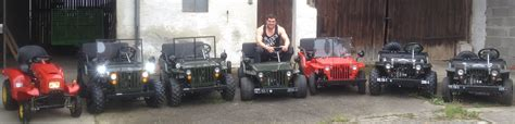 Mini Auto Mit Benzinmotor by Willys Jeep Kinderauto