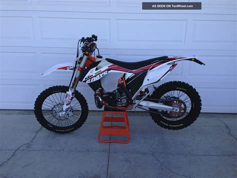 2014 Ktm 300 Xc Review 2014 Ktm 300 Xc W Six Days Edition