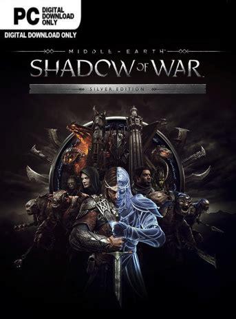 Middle Earth Shadow Of War Silver Edition Reg 3 Ps4 middle earth shadow of war standard edition steam key the feros empire