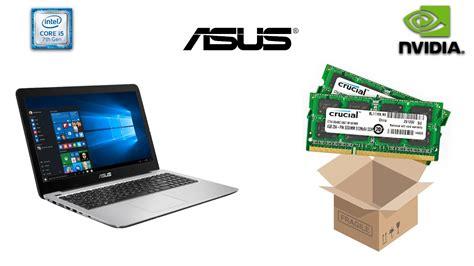 Ram Ddr4 Laptop Asus asus r558uq laptop ram unboxing crucial ddr4
