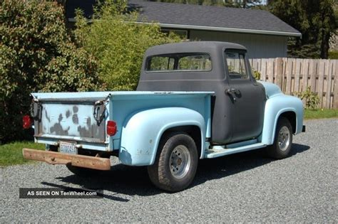 56 ford truck 1956 ford rat rod truck
